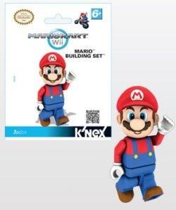 Mario Kart Wii KNEX Building Set #38026 Mario