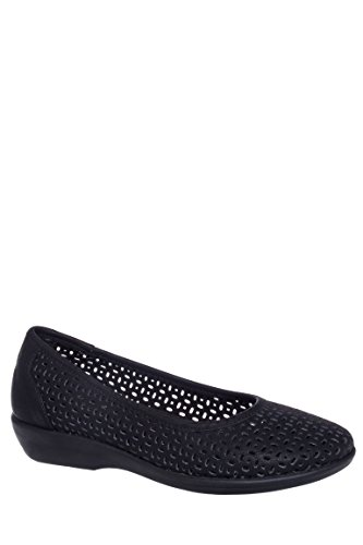 Broadway Casual Perforated Flat Ballet Flat