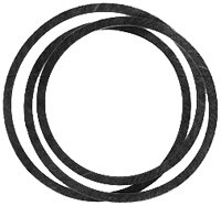 Lawn Mower Deck Drive Belt Replaces, Ayp 175436
