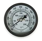 Industrial Grade 1NFY7 Thermometer, Dial Size 3 In, 50 to 550 F