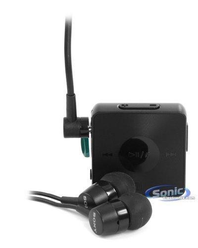 Sony Sbh20 Wireless Nfc Bluetooth 3.0 In-Ear Headphones Stereo Headset Earbuds (Black)