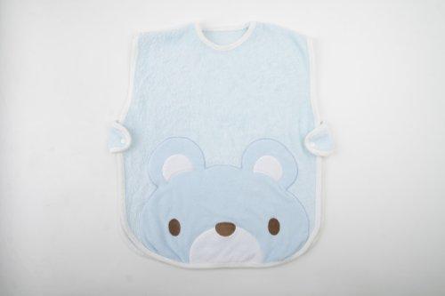 Dele Baby Supplies Newborn Baby Sleeping Bag Bamboo Fiber Cute Bear (Blue) front-852884