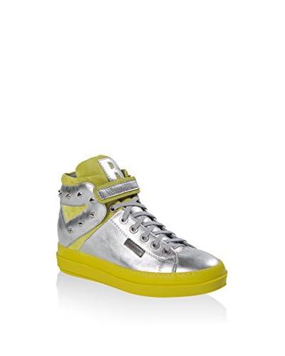 RUCO LINE Sneaker Alta [Argento]