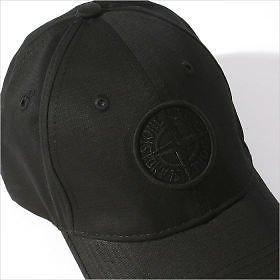 Stone Island - Casquette de Baseball - Homme Noir Noir