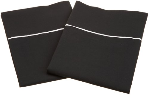 Martex T200 Standard Pillow Case Pair, Ebony Picture