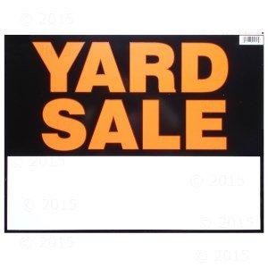 amazon com 14 x 18 yard sale sign 6 pieces industrial scientific