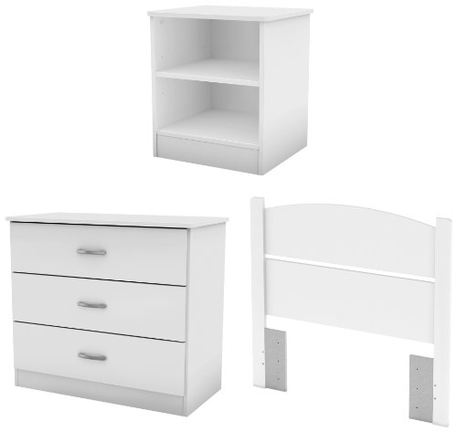 White Bedroom Furniture Set 176696 front