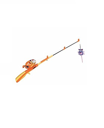 Fat cat catfisher fishing rod and reel with 2 catnip lures for Cat fishing pole