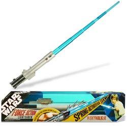 Star Wars Extending Lightsaber: Luke Skywalker - Buy Star Wars Extending Lightsaber: Luke Skywalker - Purchase Star Wars Extending Lightsaber: Luke Skywalker (Hasbro, Toys & Games,Categories,Pretend Play & Dress-up,Costumes,Accessories)