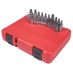 1/4'' 3/8'' and 1/2'' DR. STAR BIT SOCKET SET 1/4'' 3/8'' and 1/2'' DR. STAR BIT SOCKET SET
