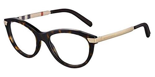Burberry BE2161Q Eyeglasses-3002 Dark Havana-53mm Health ...