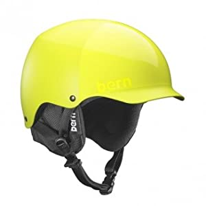 Bern Baker HardHat All Neon Yellow Everything w/ Black Liner XXL