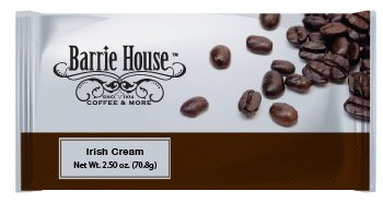 Barrie House Irish Cream Coffee 2.50 oz. Portion Pack 24ct