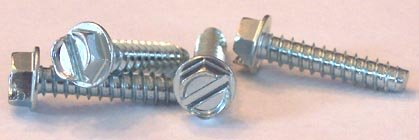 Hex Washer Head Steel Thread Cutting Screw Pack of 10 Type 23 5//16-18 Thread Size Zinc Plated Finish 2 Length