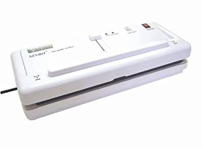 "Sinbo DZ-280/2SD 11"" Home Vacuum Sealer w/ 4mm Seal & Retractable Nozzle from ABC Office from Sealer Sales"