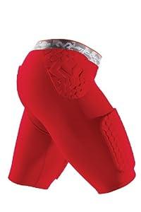 McDavid Hex Thudd Shorts, Scarlet, X-Large by McDavid