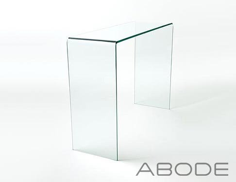Glass Console Side Table