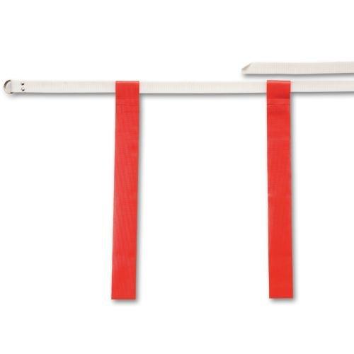 Flag-A-Tag Adjustable Flag Belts, Red - 1