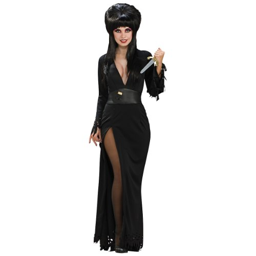 [Super Deluxe Elvira Costume - Medium - Dress Size] (Halloween Costumes Elvira)
