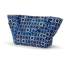 Thirty One 3509 Tote-ally Awesome Tote Deep Blue Rings