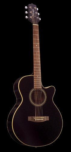 Takamine G Series Eg260C-Bl Fxc Acoustic Electric Guitar, Black