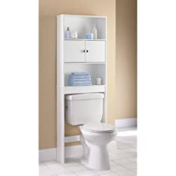 Mainstays Wood Spacesaver, White