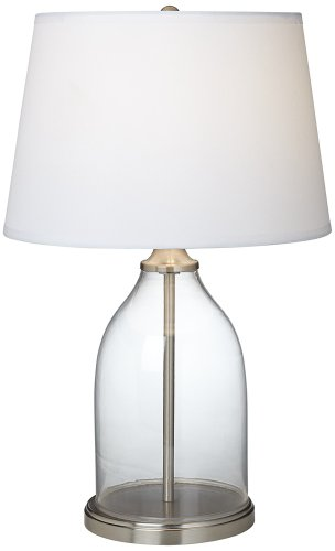 closhe fillable glass table lamp the artisan shoppe. Black Bedroom Furniture Sets. Home Design Ideas