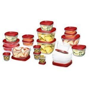 Rubbermaid 30 Piece Value Pack with Easy Find Lids - BPA Free - Freezer + Microwave Safe