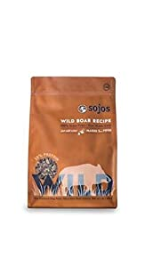 Sojos Wild Free-Range Dog Food Boar 4 lbs