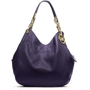 Michael Michael Kors Fulton Large Shoulder Tote (Navy)