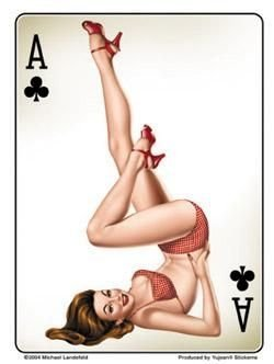 michael-landefeld-ace-of-clubs-pinup-pin-up-decalcomania-sticker-35-x-5-weather-resistant-long-lasti