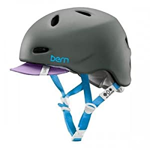Bern Berkeley Helmet with Flip Visor - Ladies - 2014 by Bern Unlimited