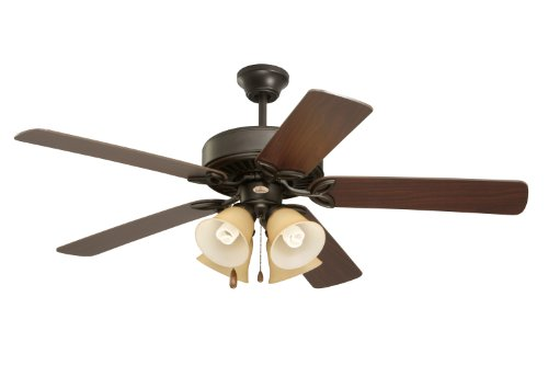 Emerson Ceiling Fans CF711ORS Pro Series II Indoor Ceiling Fan With Light, 50-Inch Blades, Oil Rubbed Bronze Finish (Emerson 50 Ceiling Fan compare prices)