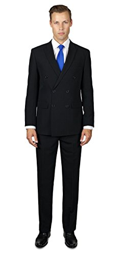 Alain-Dupetit-Mens-Double-Breasted-TR-StretchTech-Suit-in-Many-Colors