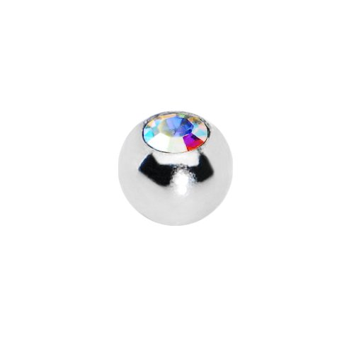 3mm Stainless Steel Aurora Gem Replacement Ball