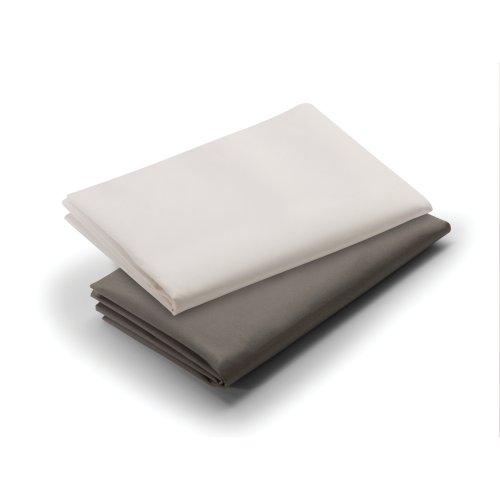 Big Save! Graco Pack 'n Play Playard Sheet, Brown/Cream, 2 Count