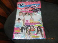 One Direction Giant Posters Tiger Beat Spectacular Winter 2013 Bieber Selena