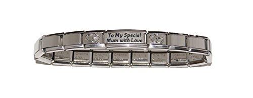 To My Special Mum with Love Italiano-Bracciale 9 mm, per Zoppini Talexia Nomination pendenti e stile