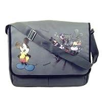 Disney Mickey Mouse Messenger Bag ~ Black & Grey from DISNEY
