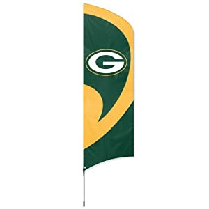 NFL Green Bay Packers Tall Team Flags by Party Animal