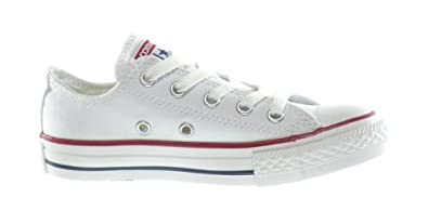 Converse C/T All Star OX Little Kids Fashion Sneakers White 3q490-11