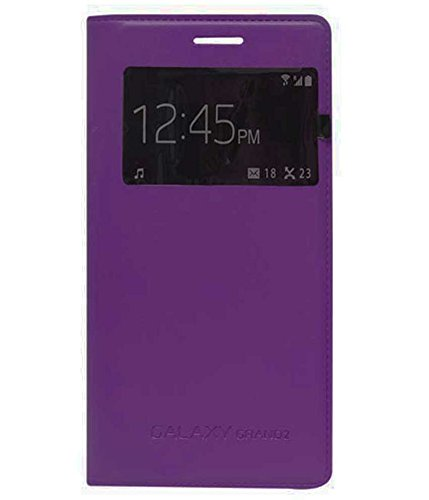 TBZ S-View Flip Cover Case for Samsung Galaxy Grand 2 -Purple  available at amazon for Rs.329