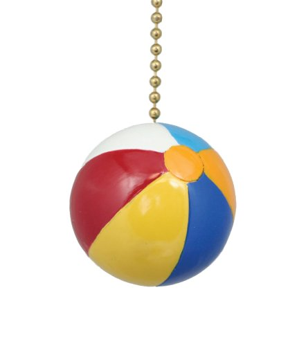 Fun in Sun Beach Ball Ceiling Fan Light Pull