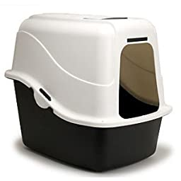 Petmate Hooded Pan Set with Microban - Sand - Large