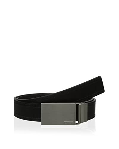 Calvin Klein Men's 35mm Reversible Flat Strap with Double Stitched Edge Belt