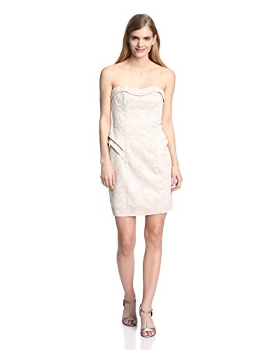 A.B.S. by Allen Schwartz Women's Strapless Lace Dress