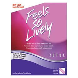 Zotos Feels So Lively Hair Perm- For Tinted Hair- Exothermic/Buffered Alkaline