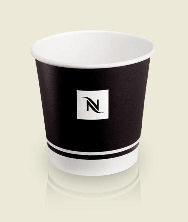 Nespresso Espresso Disposable Paper Cups, 250ml, 9oz - 50 count