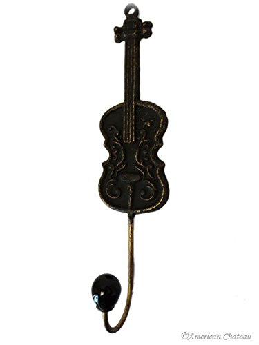 Violin/Cello String Instrument Music Metal Wall Hook Kitchen Hanger Decor