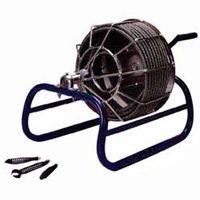 Electric Eel Mfg Co 1/2'X50' Drain Cleaner Kk-1/2Ic50 Drain Snakes/Augers Manual